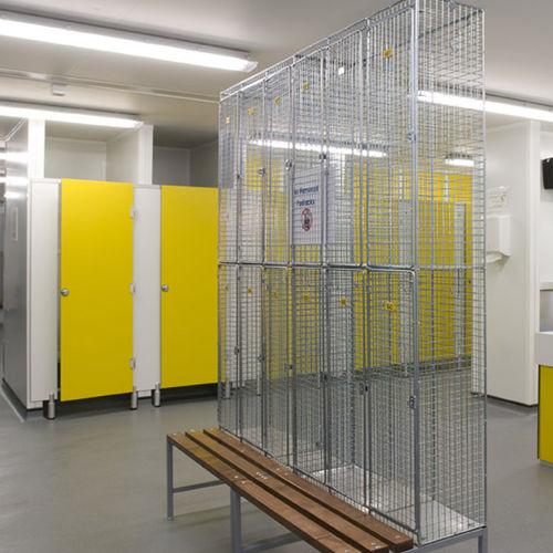 Fertigbau-Gebäude / Modul / Stahl / Stahlrahmen