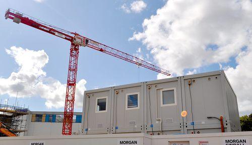 Containeranlage für industrielle Nutzung / für Baustellen