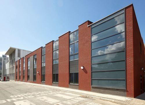 Fertigbau-Gebäude / Modul / Metall / Stahlrahmen
