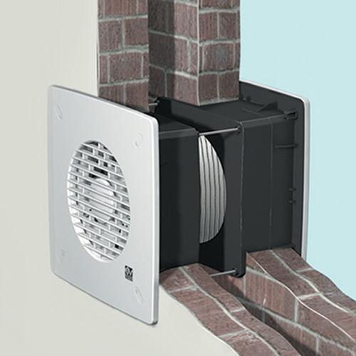Ventilator für Abzug / axial / wandmontiert / Wohnbereich