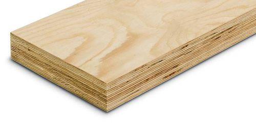 Furnierschichtholz-Bauplatte