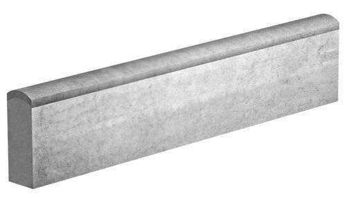 Garten-Randstein / Beton / linear