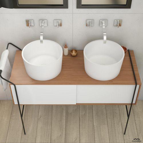 doppeltes Waschbecken