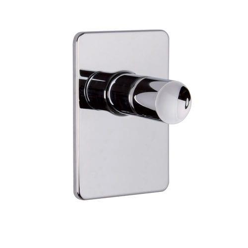 Einhebelmischer für Duschen / Einbau / verchromtes Metall / für Badezimmer