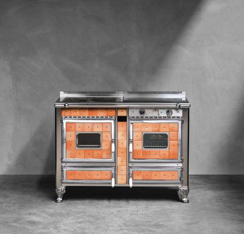 Gasherd / elektrisch / gemischt / Holz