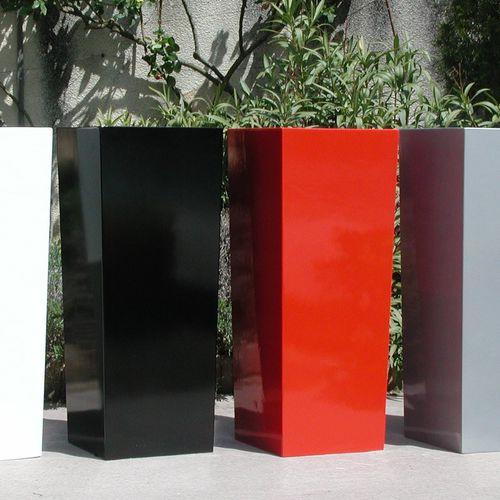 Verbundwerkstoff-Pflanzkübel / Faserzement / glasfaserverstärkter Verbundstoff / rechteckig