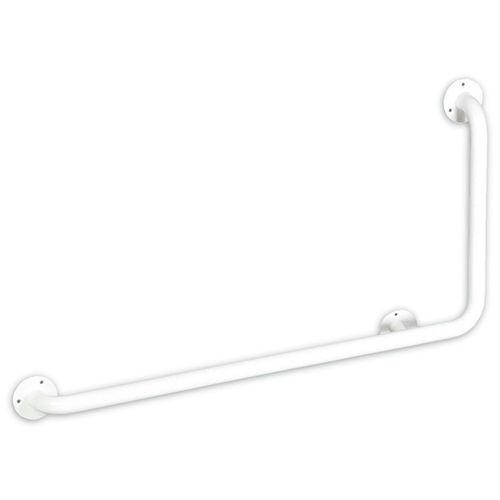 Stahl-Stützgriff / L-förmig / für Eckeinbau / wandmontiert