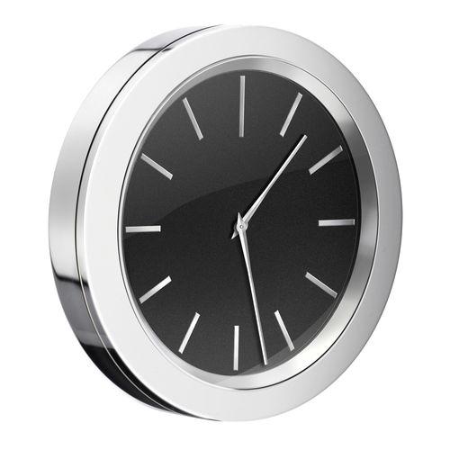 moderne Uhr / Analog / wandmontiert / Messing