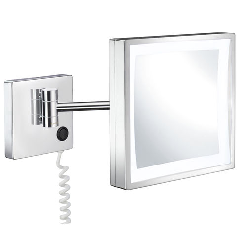 wandmontierter Spiegel