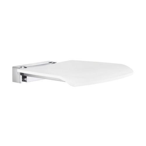 klappbarer Duschsitz / wandmontiert / Edelstahl