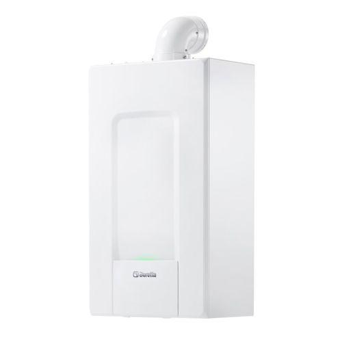 Gas-Heizkessel / wandmontiert / Wohnbereich / Außenbereich