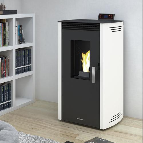 Pellets-Kaminofen / Metall / modern / 0 - 5 kW