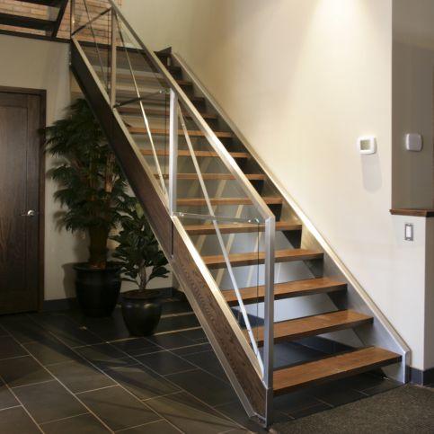 gerade Treppe - BATTIG DESIGN