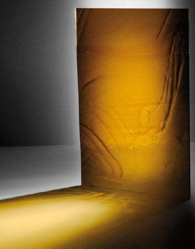 Glas-Dekorplatte