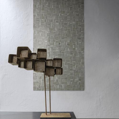 Innenraum-Mosaikfliese / Wand / Glas / quadratisch