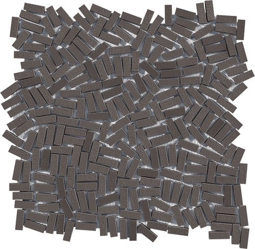 Innenraum-Mosaikfliese / Boden / Feinsteinzeug / rechteckig