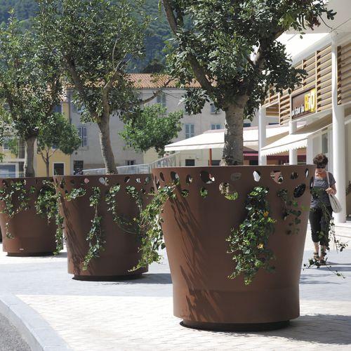Pflanzkübel für Orangerie / Metall