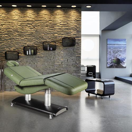 elektrische Massageliege / faltbar / höhenverstellbar / wärmend
