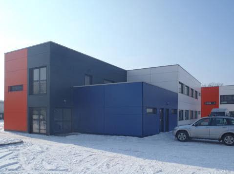Modulgebäude / Fertigbau / Holz / für Schulen
