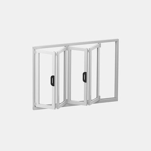 Glasfaltwand / Doppelverglasung / wasserdicht