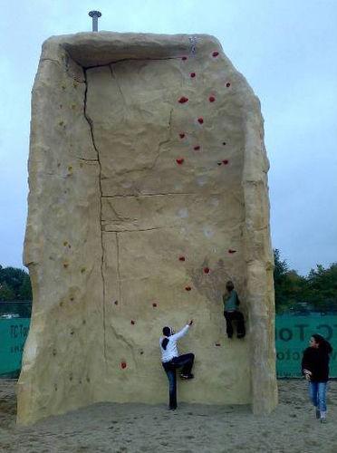 Außenbereich-Kletterturm