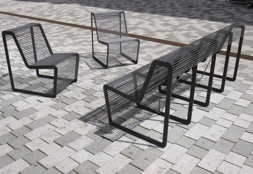 moderne Parkbank - mmcité street furniture