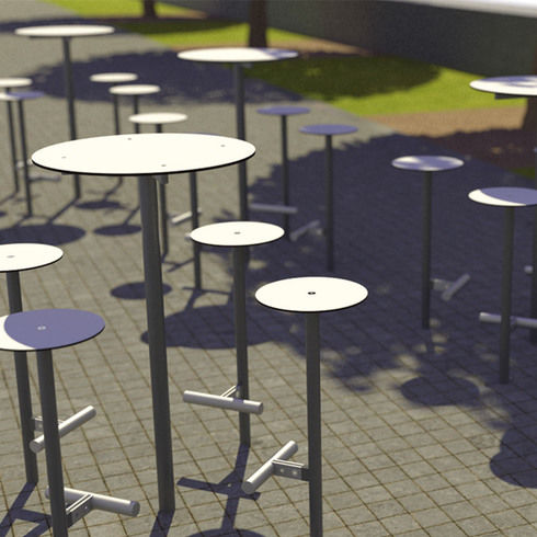 moderner Barhocker - mmcité street furniture