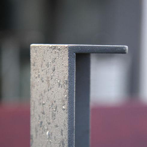 Sicherheits-Sperrpfosten / verzinkter Stahl / feststehend / abnehmbar
