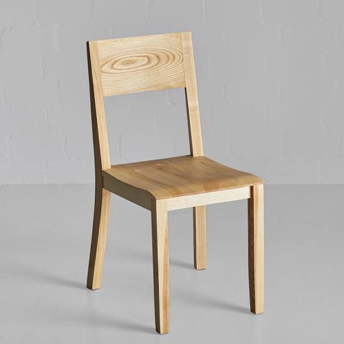 moderner Stuhl / nach Maß / umweltfreundlich / handgefertigt