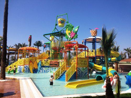 Spielplatzgerät für Aquapark / Kunststoff