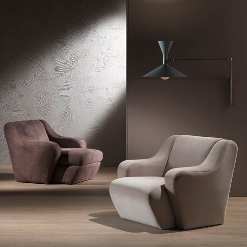 moderner Sessel / Acrylfaser / modulierbar
