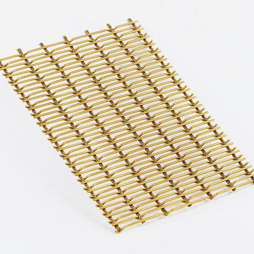 Gewobenes Metall / für Innenausbau