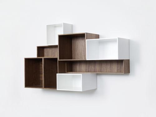 moderne Bibliothek / aus MDF