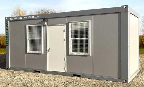 Baucontainer für gewerbliche Nutzung / für industrielle Nutzung / für Büro / für Baustellen