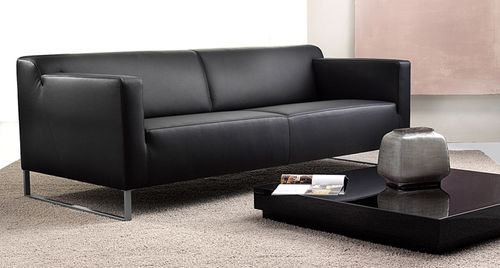 Modernes Sofa - POSITANO - Machalke - Leder / 2-Personen ...