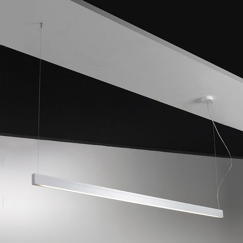 Hängeleuchte / LED / linear / Aluminium