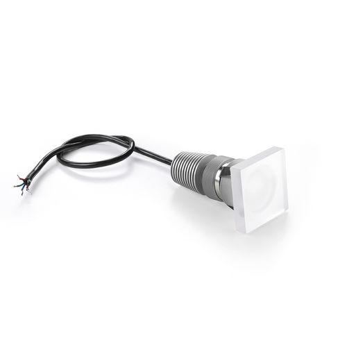 einbaufähiger Strahler / Innenraum / LED / quadratisch