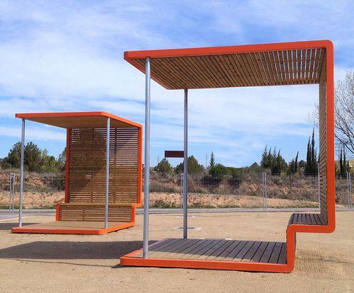 Mehrzwecküberdachung für öffentliche Bereiche - URBADIS by Microarquitectura