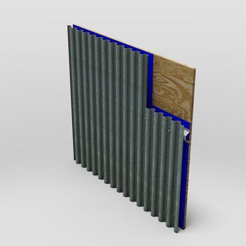 Stahldachplatte