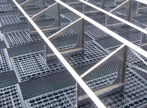 Montagesystem für Flachdächer / für Gründach / für Flachdach / für Photovoltaikanwendung