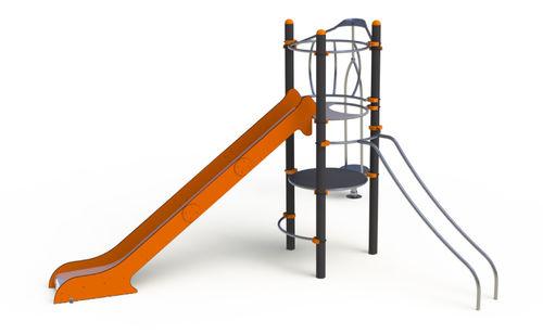 Spielplatzgerät für öffentliche Räume / Metall / modular