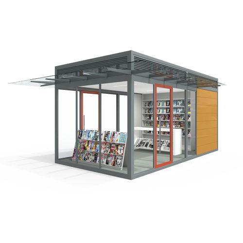 Kiosk für gewerbliche Nutzung / Gastronomie / Information / Toiletten