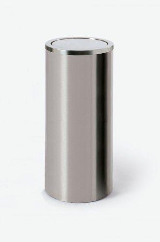 Papierkorb / verzinkter Stahl