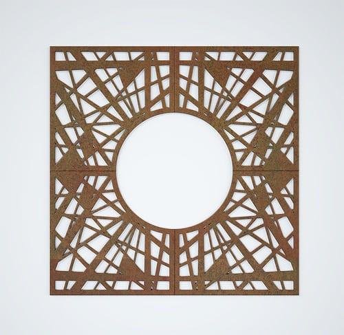 quadratisches Baumgitter