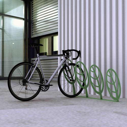 Metallfahrradständer / für öffentliche Bereiche / für Spielplätze / originelles Design