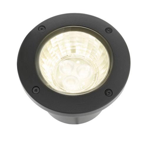 Strahler für Bodeneinbau / Außenbereich / LED / rund