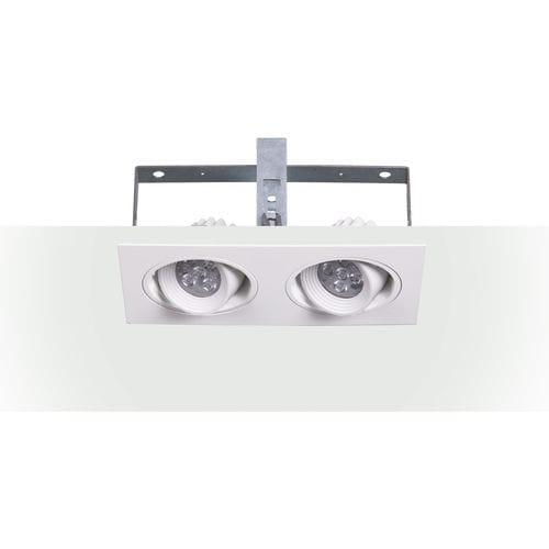 Einbaudownlight / LED / rund / Aluminiumguss