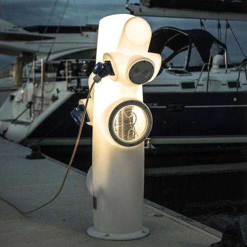 Leuchtpoller für Privatgebrauch / für öffentliche Bereiche / originelles Design / skandinavisches Design