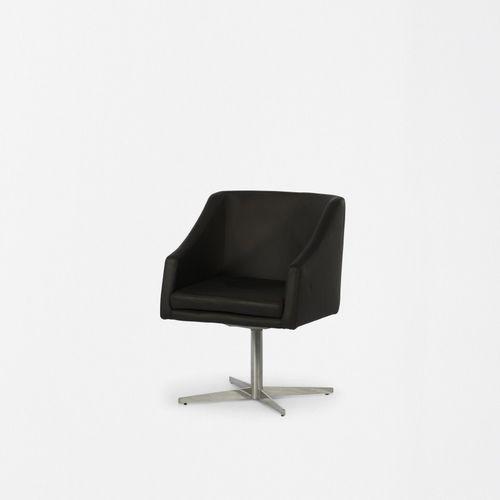 moderner Stuhl / Polster / drehbar / sternförmiger Fuß