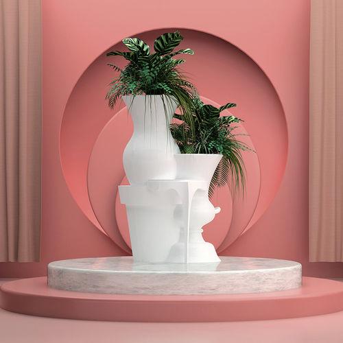 Gusseisen-Pflanzkübel